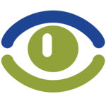Image of an eye representing business visibility